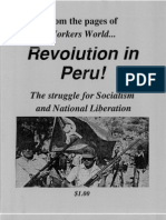 Revolution in Peru WW Pamphlet