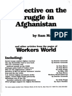 Struggle in Afghanistan Pamphlet