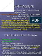 Circulation, Lec on Hypertension