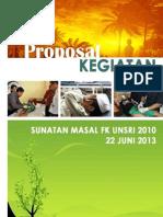 Proposal Sunatan Masal Angkatan 2010