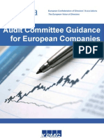 EcoDa Guidance on Audit Committees - Final