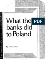 What the Banks Did to Poland pamphlet