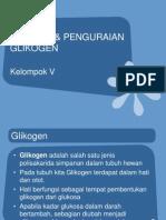 sintesis dan katalis GliKogen