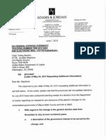 VLA Response to DOJ Letter of May 24 2013