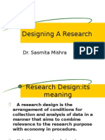 Designing a Research