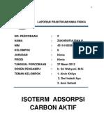Laporan Praktikum Kimia Fisika2