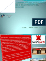 FACTORES COMPORTAMIENTO CONSUMIDOR