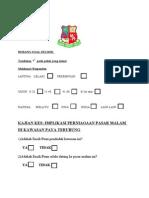 Borang Soal Selidik-Arvin