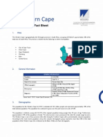 Economic Overview Of the Western Cape