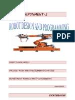 Assingnment 2 Robotics