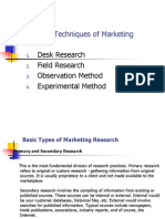 Advertising and Marketing Research(Maam)