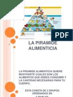 Pirámide Alimenticia Cony
