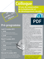Affiche Colloque Port-Cros 2013