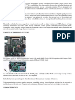 An Embedded System is a Computer System Designed for Specific Control Functions Within a Larger System