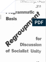 Regroupment