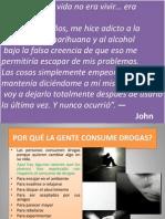 este - Taller prevención de consumo de sustancias