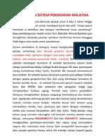 Kegagalan Sistem Pendidikan Malaysia