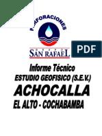 Sev Achocalla El Alto La Paz