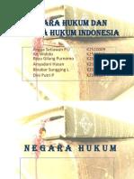 Negara Hukum Dan Negara Hukum Indonesia (Ppt)