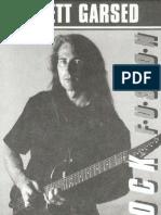 (Guitar Tab) Brett Garsed - Rock Fusion (Booklet)