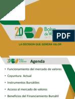 Conferencia Financiamiento a Traves de La Bolsa de Valores de El Salvador