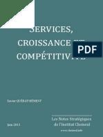 Services, croissance et compétitivité