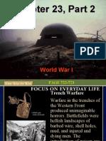 Chapter 23 World War I Part II