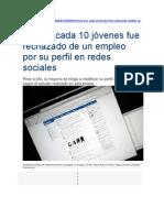 Redes Sociales en El Peru