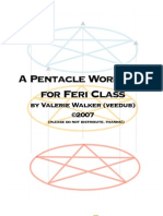 Feri Pentacle Workbook