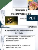 Fisiologia Psicofarmacologia ENADE Material Estudo 2012