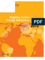 Mapping Carbon Pricing Initiatives 2013 (low res)