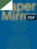 Paper Mirror - Flax013