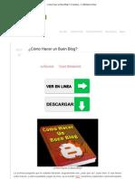 ¿Cómo Hacer un Buen Blog_ _ FL