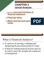Chapter FINANCIAL ANALYSIS2 Financial Analysis