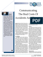 Communicating The Real Costs of Accidents and Illnesses
