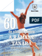 60 de Sfaturi Pentru a Ramane Tanara