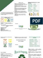 Cartilha - O Que e Reciclagem 1