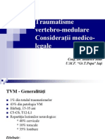 Traumatisme vertebro-medulare