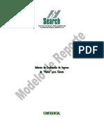 Modelo de Reporte Informe Evaluación