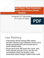 Loopografi Pada Pasien Post Colostomy