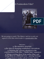 The Matrix and Postmodernism