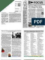 In FOCUS Newsletter - June 2013