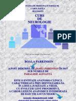 Curs 5 Boala Parkinson