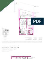 Baltus House floorplans