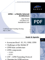 GPRS a Mobile Internet Architecture-CTDC