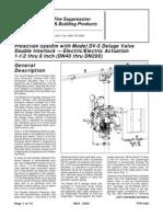 Preaction System Double Interlock-Elect-Elect Actuation