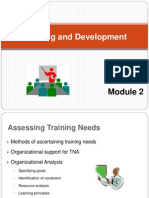 Training and developement