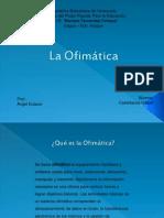 _Presentación sobre La Ofimatica (OpenOffice - Linux y Microsoft Office - Windows)