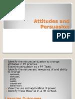 Atitude and Persuasion