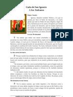 Carta de San Ignacio Tralianos